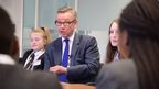 Gove answering questions