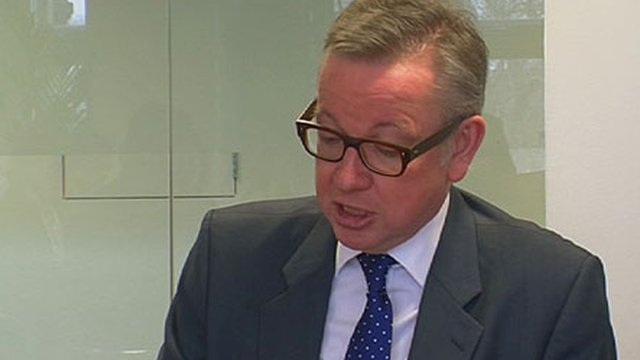 Education Secretary Michael Gove says teachers should be paid more.