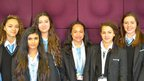 The School Reporters from Highgate Wood School.