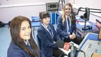 Stainburn School and Science College recording on News Day 2014.