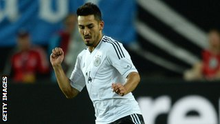 Germany's Ilkay Gundogan