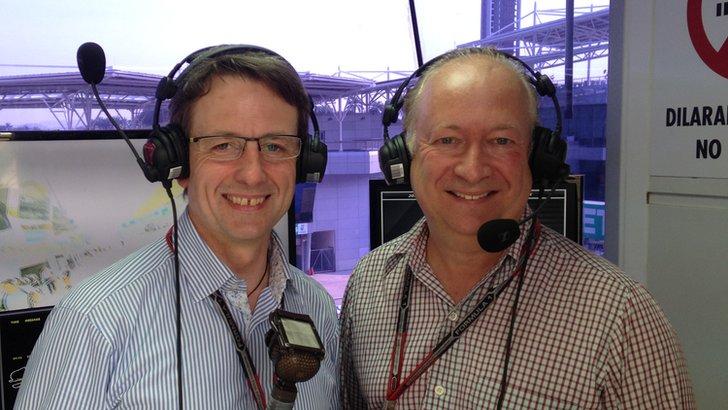 Ben Edwards and Tony Dodgins