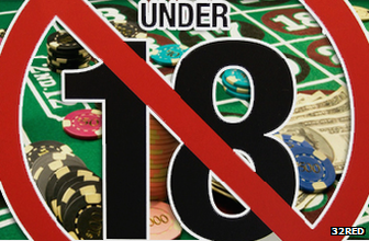 Under-18 sign