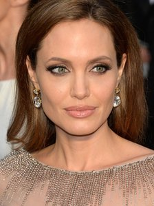 Angelina Jolie attends the Oscars