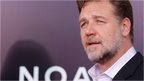 "Actor Russell Crowe attends the New York Premiere of ""Noah"" at Clearview Ziegfeld Theatre on March 26"