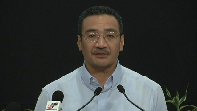 Hishammuddin Hussein, Malaysia's Acting Transport Minister
