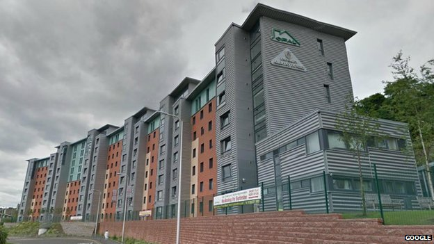 Opal student halls, Dundee