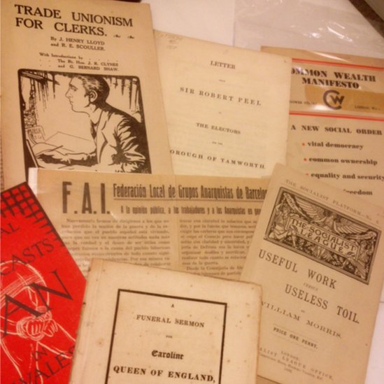 Some of the obscure British political tracts which can be found at Bolerium