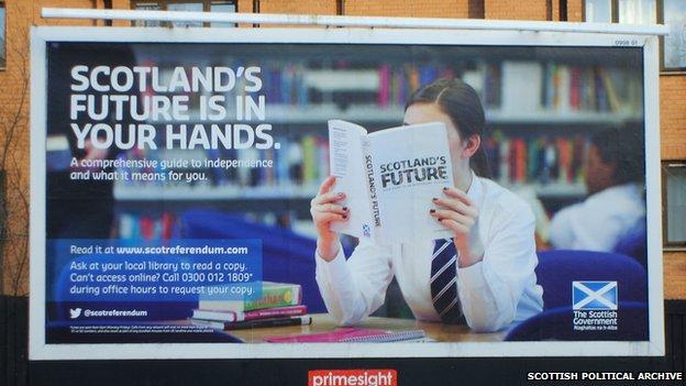 A billboard poster