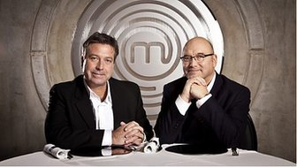 John Torrode and Gregg Wallace