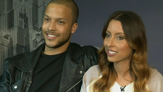 Joe Thompson and Chantelle Perry