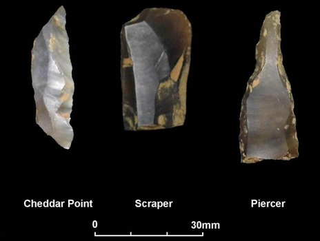 Creswellian stone tools