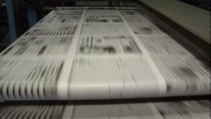 Printing the Peterborough Telegraph