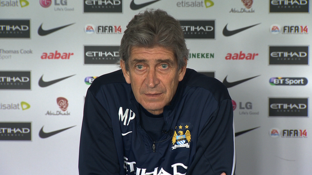 Man City boss Manuel Pellegrini speaks ahead of fixture at Arsenal