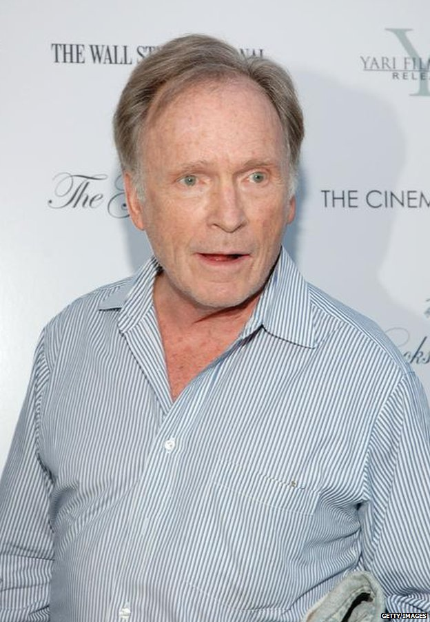 Dick Cavett in East Hampton, New York, August 2007