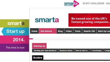Smarta's website