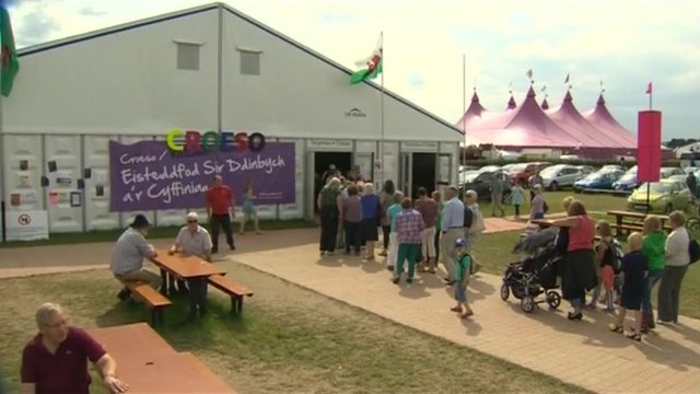 National Eisteddfod of Wales at Denbigh