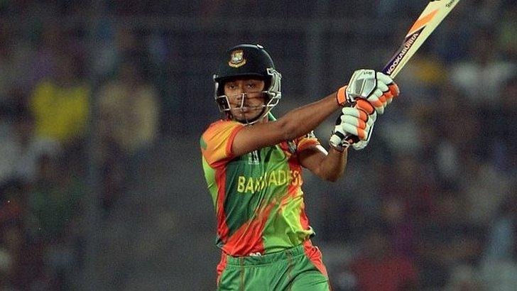 Bangladesh batsman Anamul Haque
