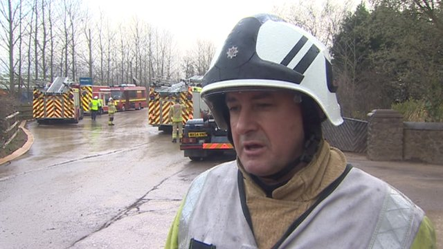 Group Manager Peter Jenkins from South Wales Fire and Rescue Service