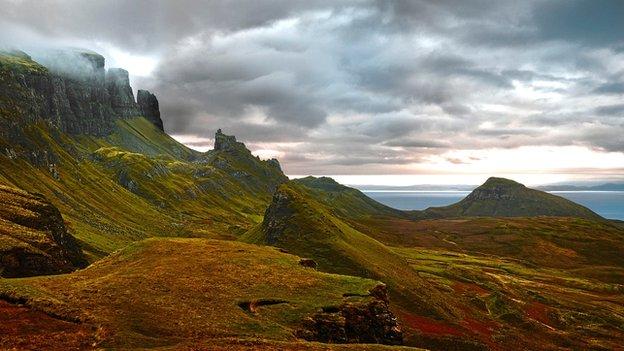Quairaing, Skye. Photograph by Albert Watson
