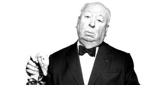 Alfred Hitchcock. Photograph by Albert Watson