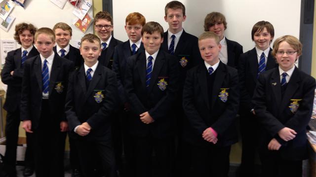 Bangor Grammar school reporters