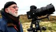 Albert Watson on Skye, with a camera