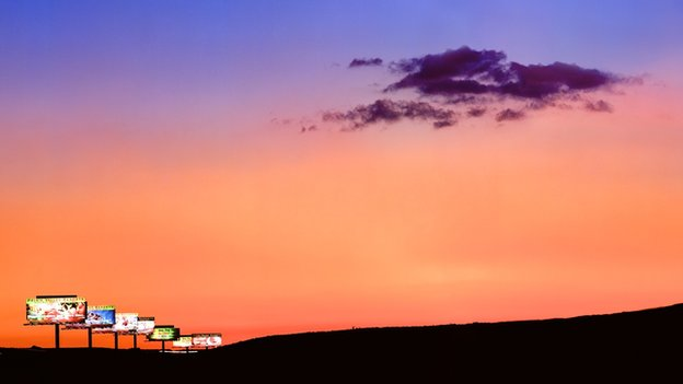 Sunset, photograph by Albert Watson