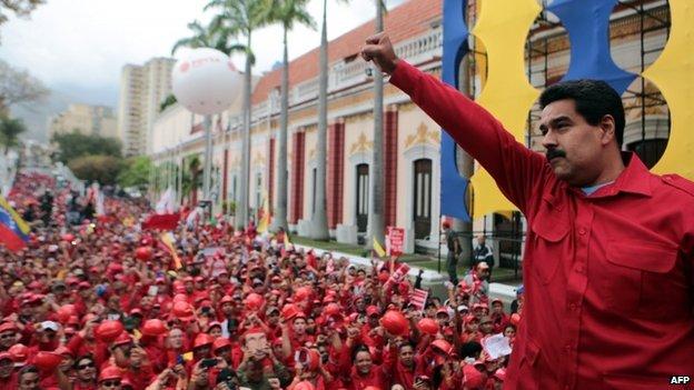 Nicolas Maduro, 19 Feb 2014