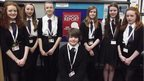 The team at Gryffe High School in Renfrewshire are working hard on News Day 2014.