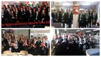 School Report teams from The Billericay School, Sandhurst School, Reepham High School, and Chailey School.