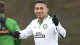 Celtic full-back Emilio Izaguirre