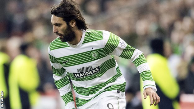 Celtic forward Georgios Samaras