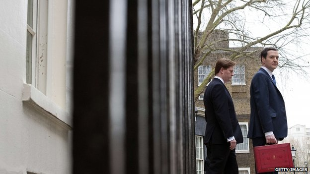 Danny Alexander and George Osborne