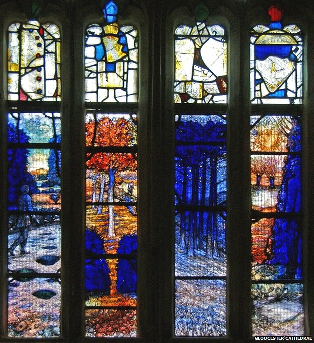 Ivor Gurney stained glass window