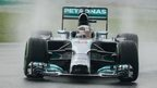 Lewis Hamilton masters the wet conditions to take pole in Malaysia