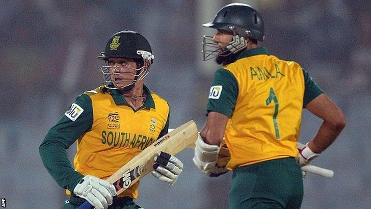 South Africa take a single