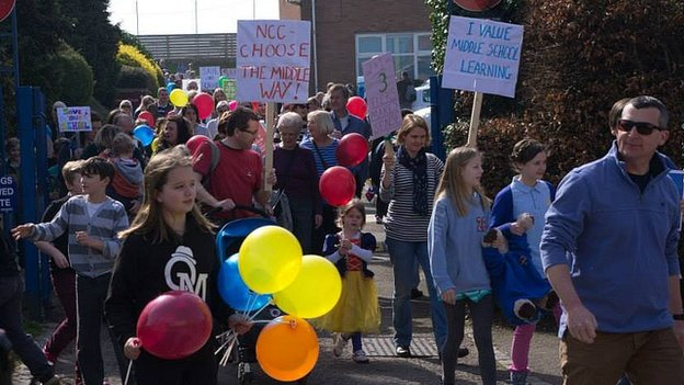 Save King John School campaigners