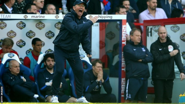 Crystal Palace boss Tony Pulis