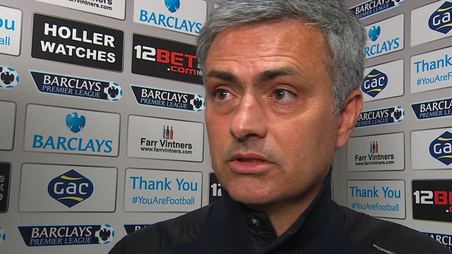 Chelsea title hopes over - Jose Mourinho