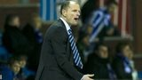 Kilmarnock boss urges his side on as they went down 3-0 to Celtic
