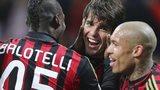 Kaka and Mario Balotelli