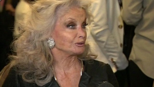 Kate O'Mara at BBC event on 22 November 2013