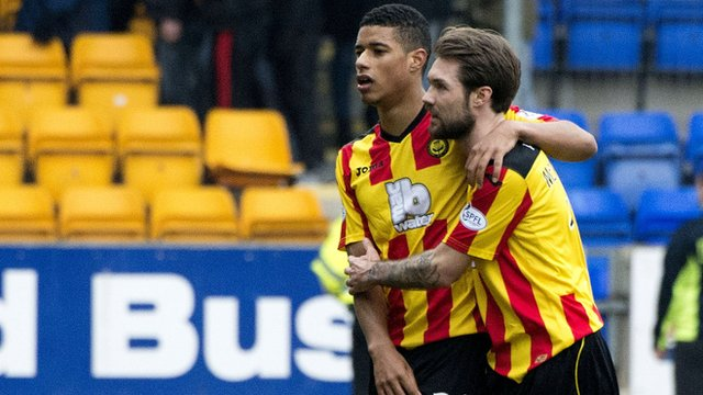 Partick Thistle drew 1-1 in Perth