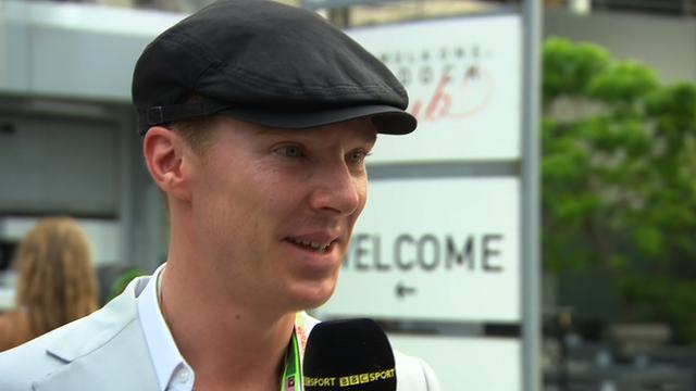 Sherlock star Benedict Cumberbatch
