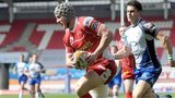 Jonathan Davies scores for Scarlets