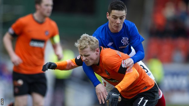 Gary Mackay-Steven and Ian Black