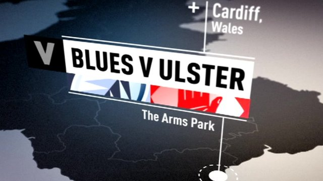 Highlights: Cardiff Blues v Ulster