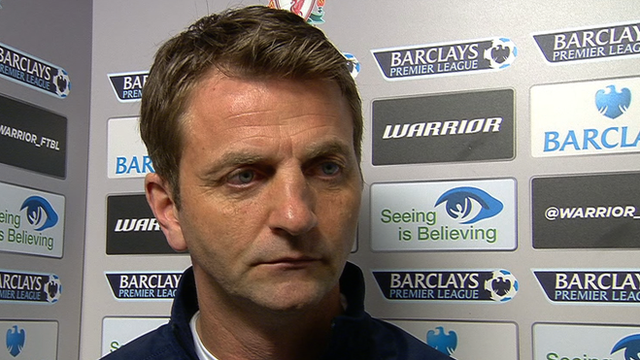 Liverpool 4-0 Tottenham: Tim Sherwood says team is long way from rivals