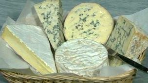 Fivemiletown Creamery in County Tyrone sells much of its soft cheese outside Northern Ireland